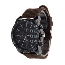Nuevo diseño de la venta caliente de Lujo Del Deporte de Cuarzo Analógico Reloj Para Hombre Caja de Acero Inoxidable Reloj de Pulsera CO yj Dropshipping