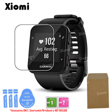 For Smart Watch Garmin Forerunner 35 F35 Screen Protector Tempered Glass TPU Protective Film-/ round tempered glass protective film for samsung galaxy huawei garmin huami lg fossil suunto smart watch screen protector cover