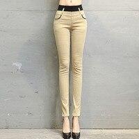 Утепленные Вельветовые женские брюки, под Штаны, Корейская версия, мини Штаны, узкие брюки, хлопковые брюки, для девочек.