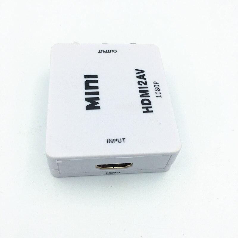 1080P HDMI TO AV 3 RCA COMPOSITE CVBS S-VIDEO CONVERTER ADAPTER PS3 - Համակարգչային մալուխներ և միակցիչներ - Լուսանկար 4