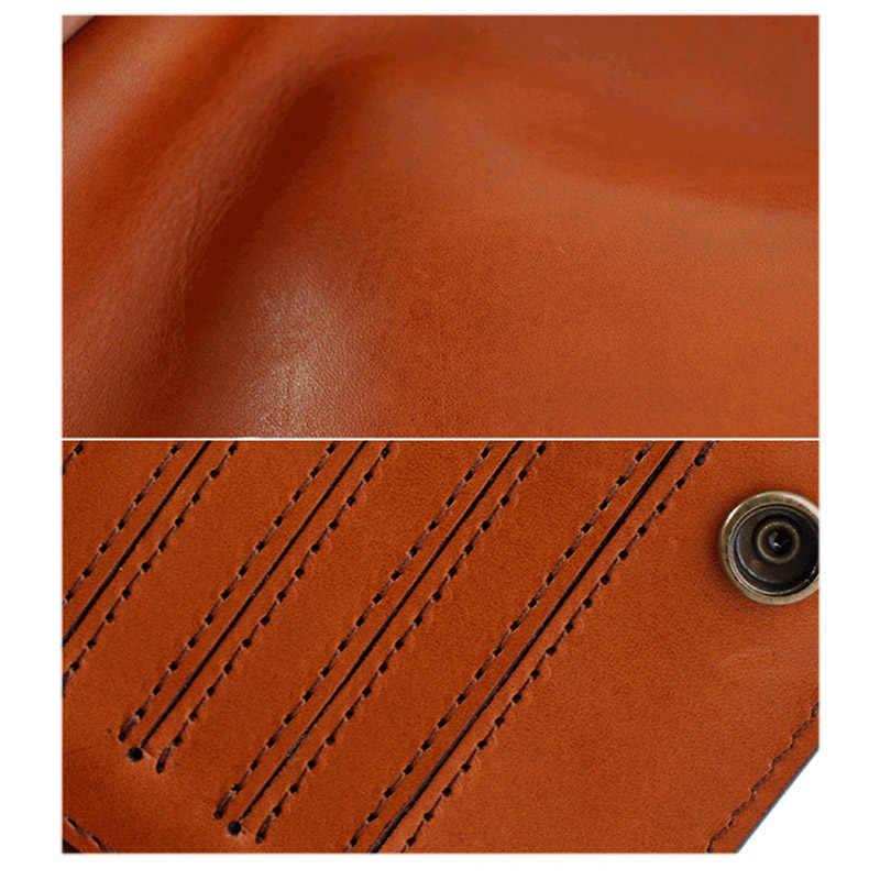 AETOO Винтаж ручной работы кошелек мужской длинный кожаный личность Корейская версия тренд Мужская противоугонная функция ручная сумка