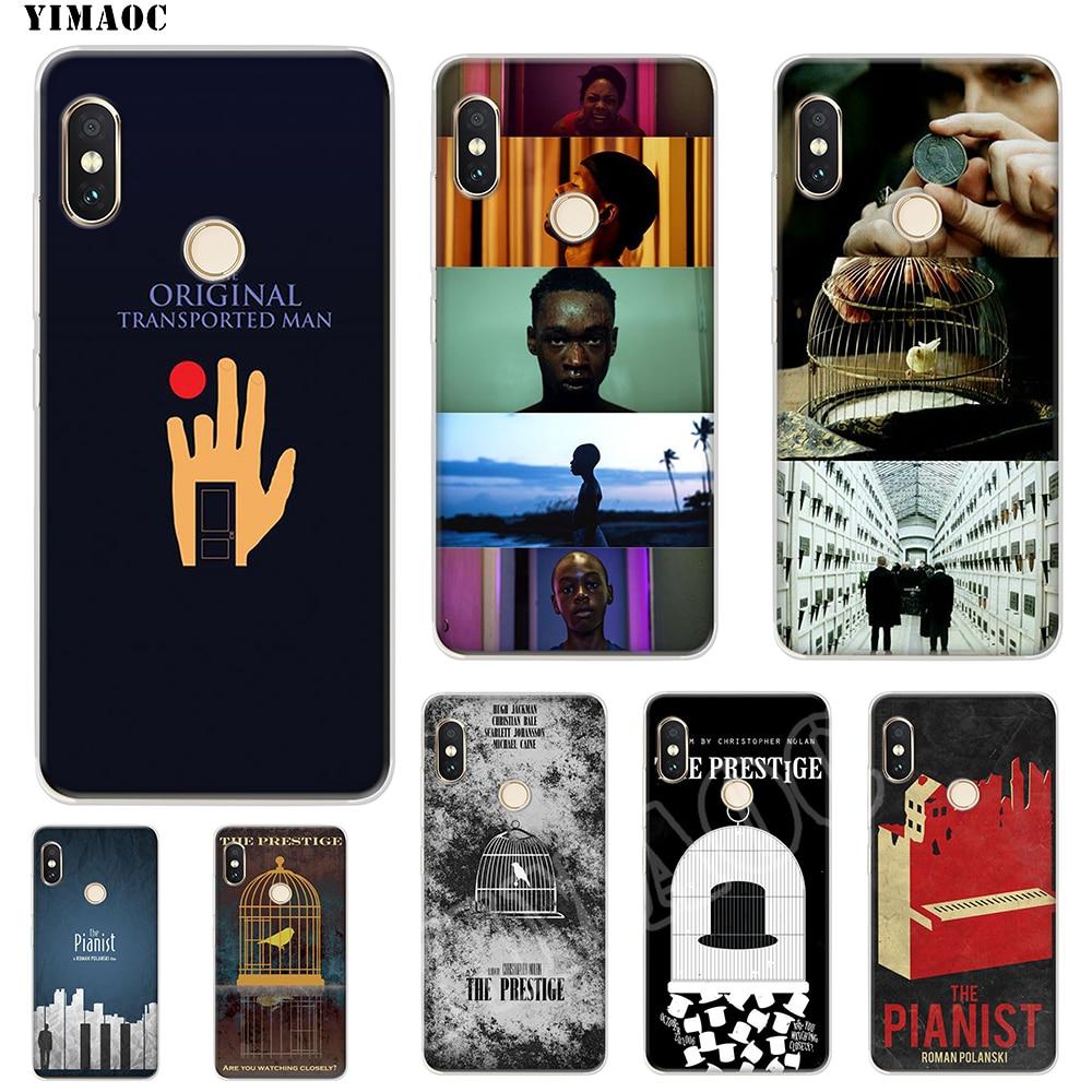 YIMAOC The Prestige Soft TPU Case for Xiaomi Redmi 6 4X 5A 4A S2 Note 4X 4 5 Pro Plus Mi 8 9 SE 6 A2 A1 MiX 2S MAX 3 Case