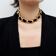 Choker Necklaces Jewelry Gothic Punk Black Women Vintage Summer New-Fashion for Girls