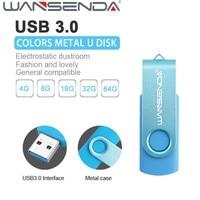 Fashion WSD Colorful USB Flash Drive Pen Drive USB 3 0 USB Flash Pendrive U Disk