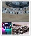 5 m/lote 32 LEDS 32 IC WS2801 5050 RGB LED Strip Individual endereçável 5 V branco PCB NP WS2801 LED tira flexível não - à prova d ' água