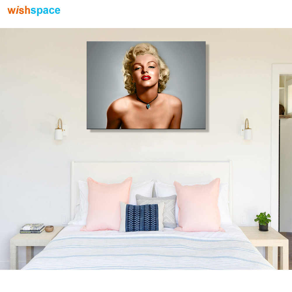 Deco Chambre Maryline Monroe famous pop movie star marilyn monroe classic wall poster