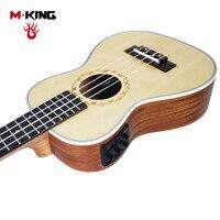 Elettrica Chitarra acustica ukulele strumento Professionale 23/26 pollici 4 corde della Chitarra di trasporto libero all'ingrosso