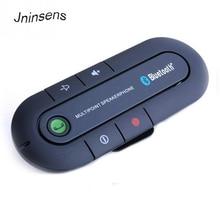 купить Hot sale Bluetooth Handsfree Speakerphone  Adapter Aux Bluetooth Kit Speaker Mini Speaker Phone Transmitter MP3 Music Player по цене 551.07 рублей