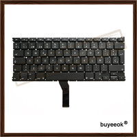 Original New A1369 A1466 SP Spanish Keyboard For Apple Macbook Air 13 A1369 2011 A1466 2012