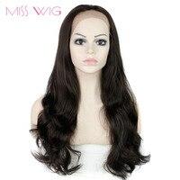 MISS WIG Lace Front Wig Long Wavy Wigs Wigs for Black Women Heat Resistant