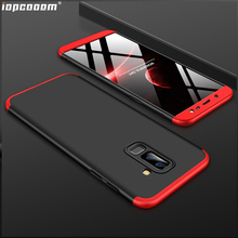 360 Full Protection Case For Samsung Galaxy J8 Luxury Hard Shockproof Back Cover cases