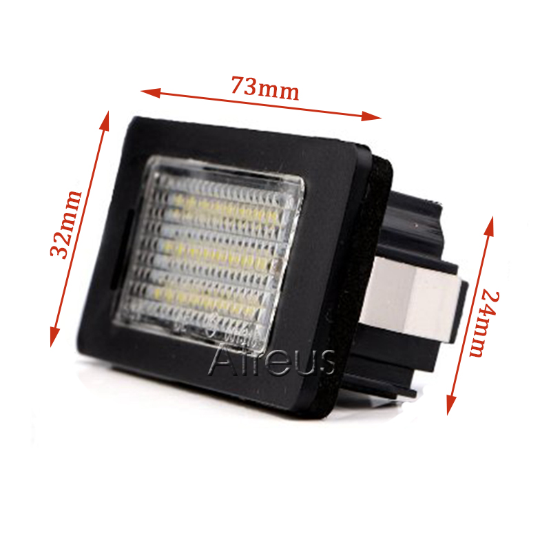 Atreus automobilsko LED registarsko svjetlo za BMW E39 E60 M5 E90 E82 - Svjetla automobila - Foto 4