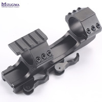 1pc Tactical Heavy Duty Quick Release Scope Rail Mount Ring 3 Side Rail 20mm Mount Rifle