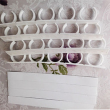 Clip Hooks Holder Gripper 4 Layers Spice Rack Organizer Wall Cabinet Door Hanging Jars less than 250 grams 100g