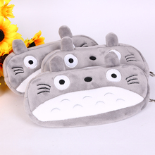 20CM My Neighbor Totoro Grey Plush Toy Animals Cat Plush Toys Coin Bags