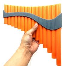 15 pipas ABS de gran calidad, llave de flauta G, instrumentos musicales folclóricos hechos a mano con bolsa para niños principiantes estudiantes