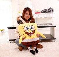 Fillings Toy Lovely Sponge Bob Soft Plush Toy Large 100cm Spongebob Toy Birthday Gift W5157