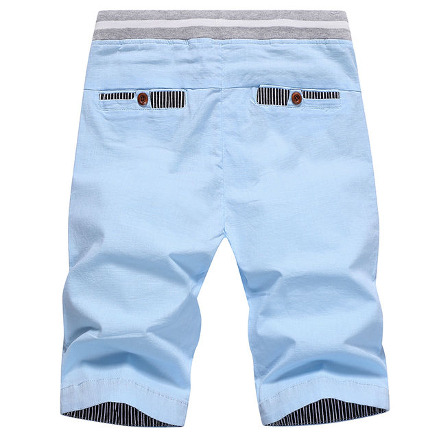 2020 summer solid casual shorts  2
