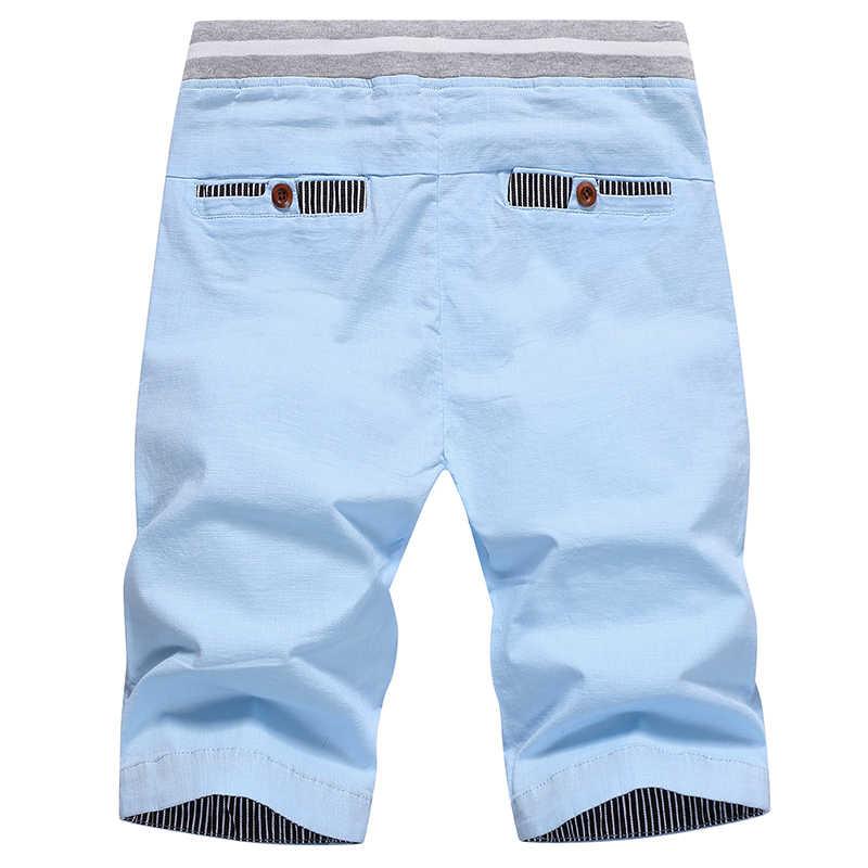 Drop shipping 2020 lato jednokolorowa na co dzień szorty męskie szorty bojówki plus rozmiar 4XL szorty plażowe M-4XL AYG36