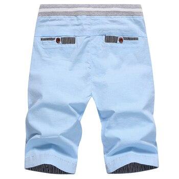 drop shipping 2020 summer solid casual shorts men cargo shorts plus size 4XL  beach shorts M-4XL AYG36 2