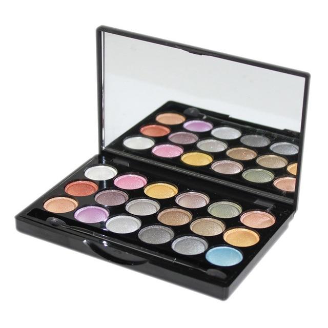18 warm colors eye shadow Makeup Palette Eyeshadow Free Shipping