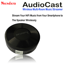 M5 AudioCast Airplay Wifi Music Audio Speaker Receiver 2.4G WIFI Hifi Music DLNA Airplay Adapter Spotify Wireless Sound Streamer