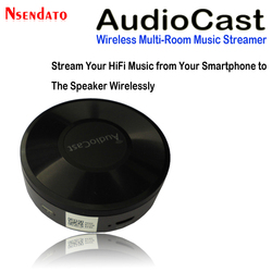 M5 AudioCast Airplay Wifi Music Audio Speaker Receiver 2.4G WIFI Hifi Music DLNA Airplay Adapter Spotify Wireless Sound Streamer