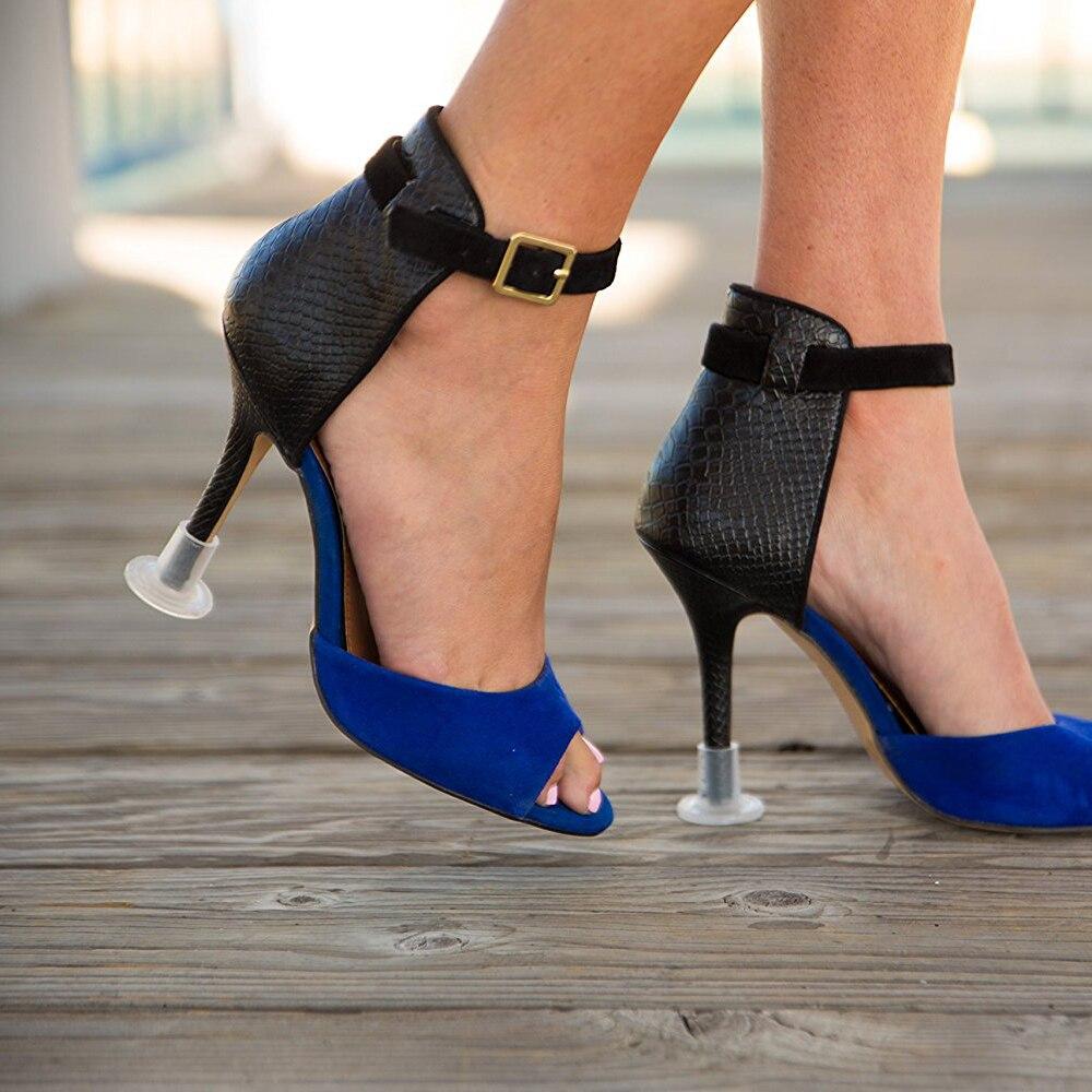 60 Pairs / Lot Heel Stopper High Heeler Antislip Silicone