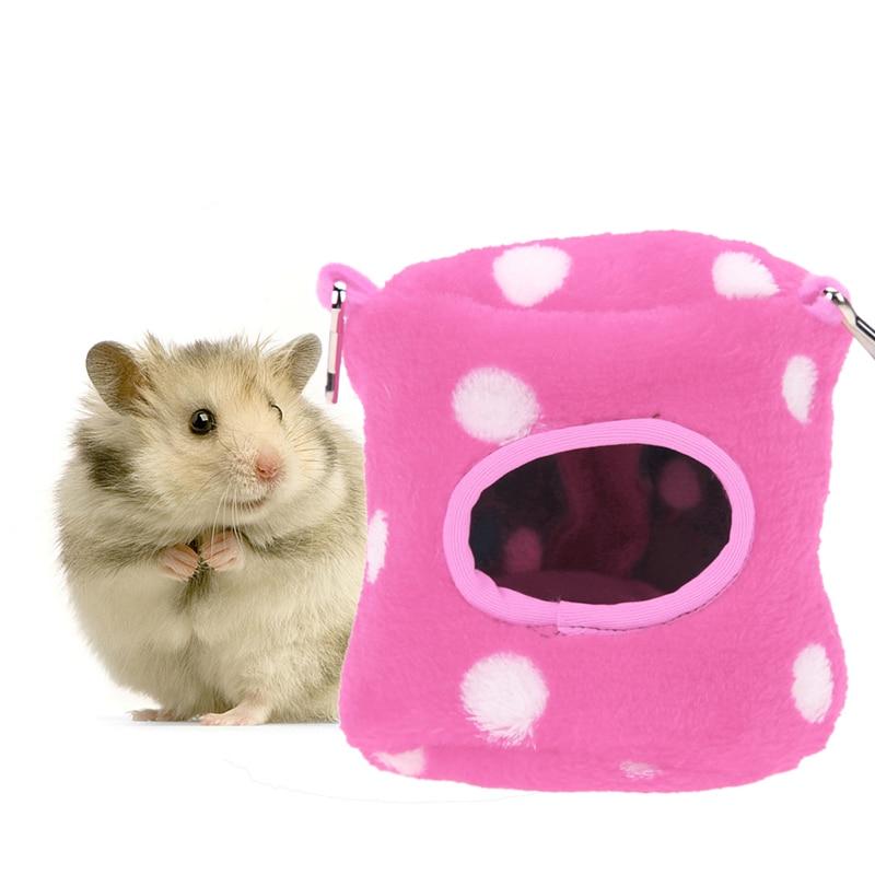 Små dyr Pet Hamster Hus Seng Handlekurv Hus Squirrel Fox Hamster - Pet produkter