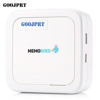 GOOJPRT G3 MEMOBIRD Mini Bluetooth Paper Photo Printer 900mAh Thermal Printing Pocket Printing Thermal Sensitive Resistance