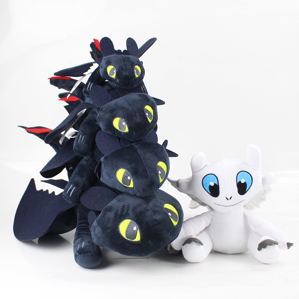 How to Train Your Dragon Toothless Night Fury Soft Stuffed Animal Plush Toys Juguetes de Peluches Bebe Dolls 23CM 35CM 45CM 58CMHow to Train Your Dragon Toothless Night Fury Soft Stuffed Animal Plush Toys Juguetes de Peluches Bebe Dolls 23CM 35CM 45CM 58CM