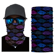 Biker Bandanas (5 pcs/lot) AC125-AC127 Outdoor Sports Hat Cycling Turban Head Scarf Face Mask