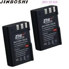 2 шт. EN-EL9 EN EL9 ENEL9 литиевая батарея для камеры Nikon D60 D40 D40X D5000 D3000 EN-EL9A EN EL9A ENEL9A MH-23