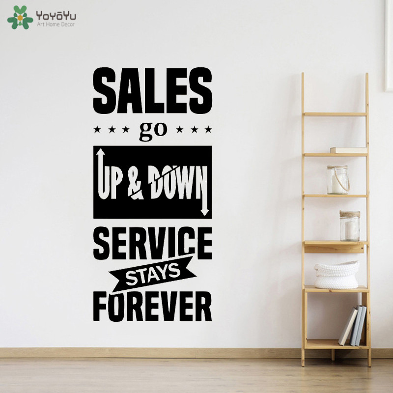 Us 6 27 25 Off Office Quotes Wall Decal S Go Up Idea Teamwork Business Worker Inspire Decoration 40 Colors Available Art Decor Qq416 In