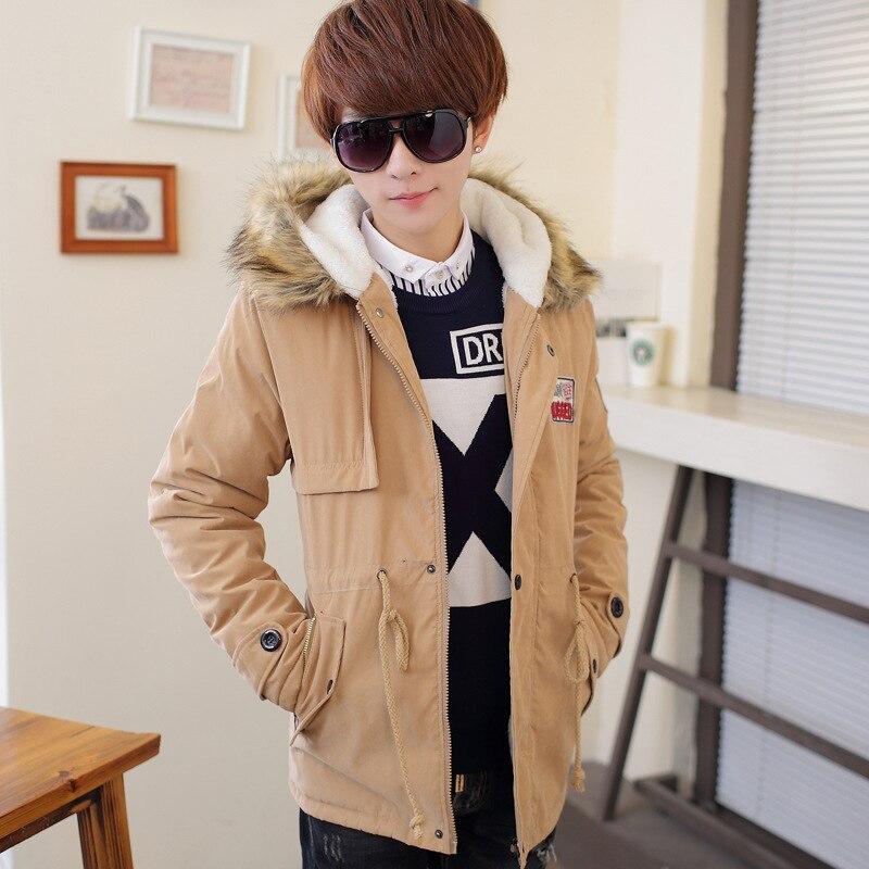 Ücretsiz kargo 2016 yeni stil Çiftler pamuk dolgulu giysiler adam genç öğrenciler coat boyutu M-3XL 4 RENKLER