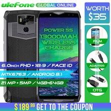 Ulefone Güç 5 S 13000 mAh 4G Smartphone 6.0