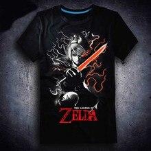 2017 neue The Legend of Zelda T-shirt Game LINK männer t-shirt Baumwolle Sommer kurzhülse Tees tops