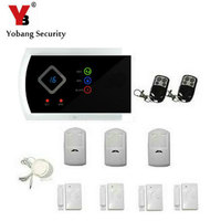IOS Android APP English Russian Spanish Italian Czech GSM Wireless Home Burglar Security Alarm System