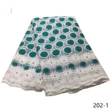 Nigerian Lace Fabric High Quality African Hot Sale Women Wedding Milk Silk French 202