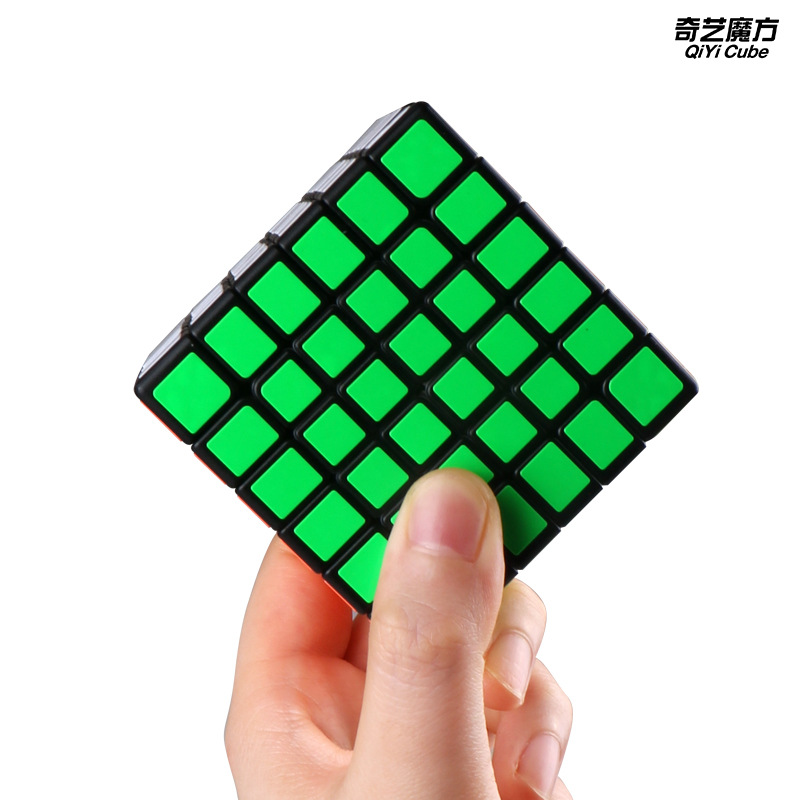 QiYi Qifan 6x6x6 Magic Speed Cube Stickerless Professional Puzzle Cubes Educational Toys For Children
