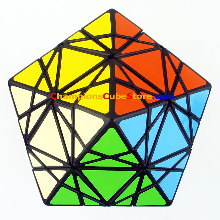 MF8 & Eitan's Star Puzzle Magic Cube Black (Stickered) Learning&Educational Cubo magico Toys dayan gem cube vi magic cube white and black learning