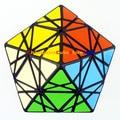 MF8 & eitan Estrela Enigma Magic Cube Preto (Stickered) Brinquedos de Aprendizagem & Educational Cubo magico