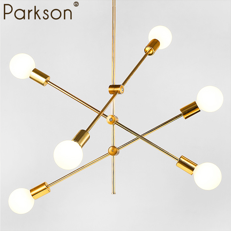 Modern Pendant Lights Lamp LED Bedroom Dinning Room Nordic Simple Modern Hanging Lamp Light E27 Round Glass Ball Black Gold