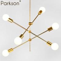 Modern Pendant Lights Lamp LED bedroom dinning room nordic simple modern hanging lamp light E27 round glass ball black gold