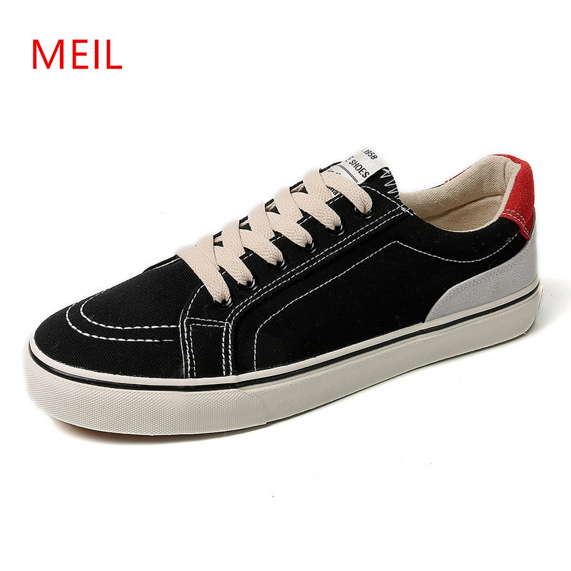 Mens Canvas Shoes Men Casual Breathable Flat Shoes Man Outdoor Flats Men 39 s Casual Shoes Zapatillas Hombre Casual Footwear Men in Men 39 s Casual Shoes from Shoes