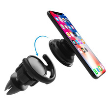 Universal Car Phone Holder Air Vent Stand 360 Degree Rotatable Dashboard Mount for iPhone Samsung xiaomi GPS Holder цена