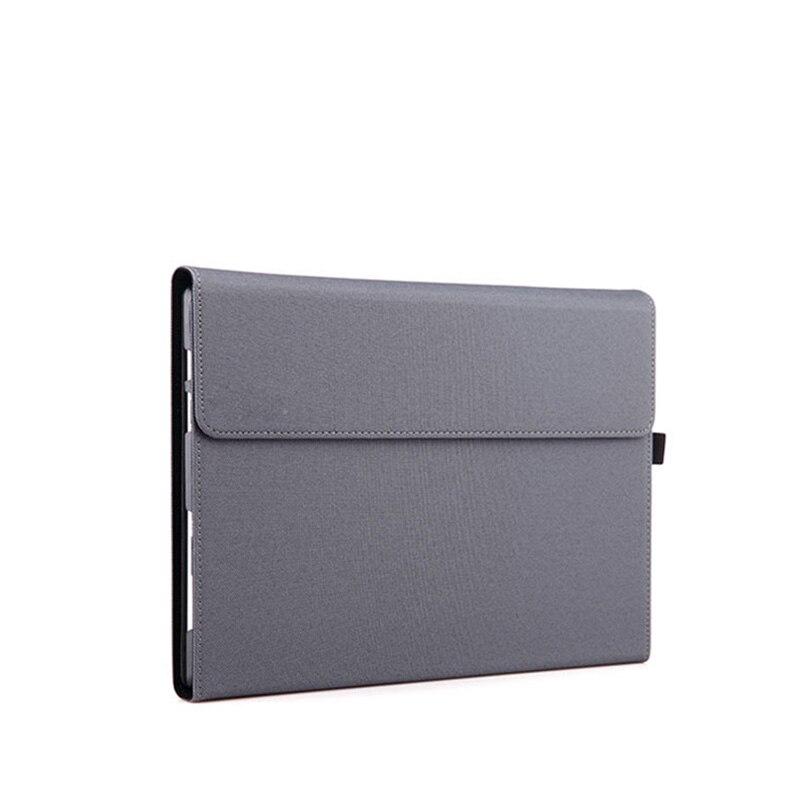 Prix pour Prime en cuir pu tablet cover case pour surface pro 4 12.3 folio couverture de stand avec porte-stylet manches pour microsoft pro 4