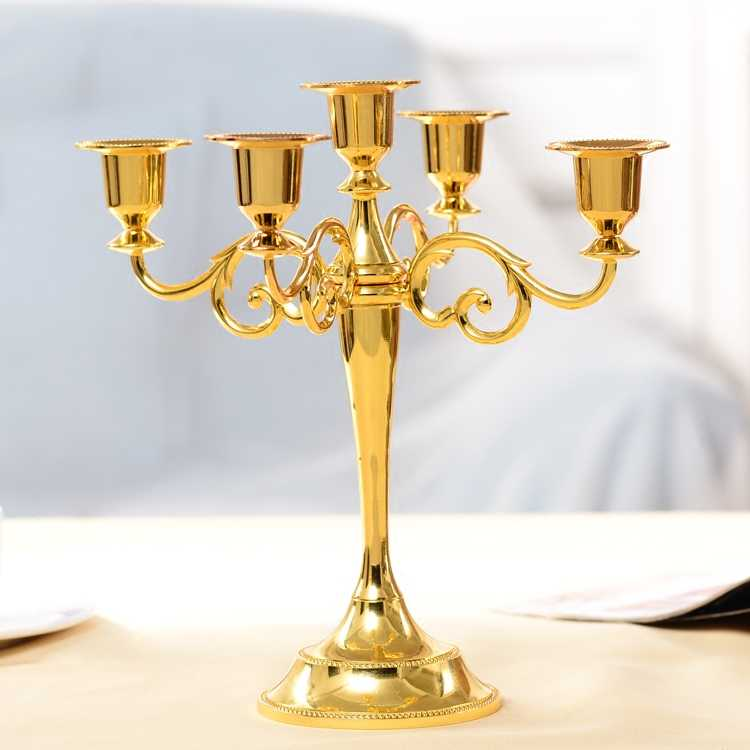 Мода простая жизнь Европейский ретро украшения подсвечник Свадебные украшения реквизит декоративная мебель Романтический свечах