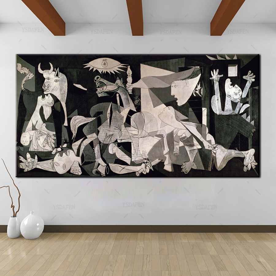 Ysdafen Spain France Picasso Classic Guernica 1937 Germany