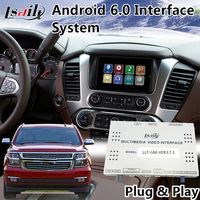 Android 6.0 Video Interface Navigation for Chevrolet Suburban Mylink System 2015 2018 Original Car Screen Upgrade